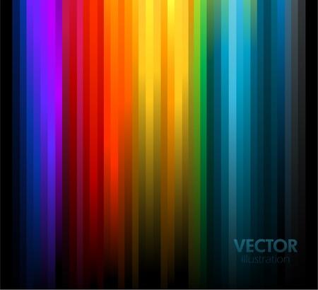 prisma: Fondo de colores del arco iris abstracta.  Vectores