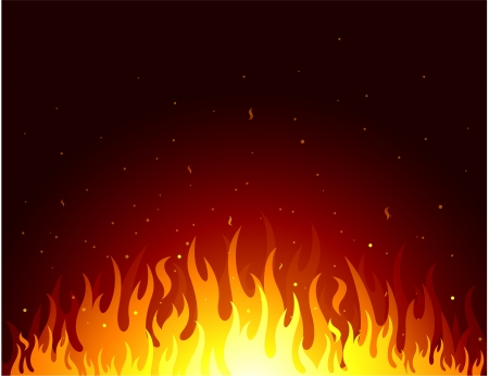 flames design background Vector