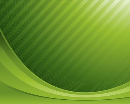 green abstract design background Stock Vector - 8693020