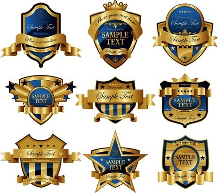 premios: marco de oro azul