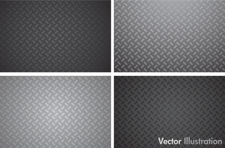 プレート: 金属のテクスチャ パターン