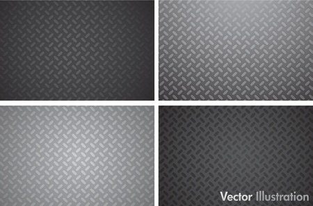 steel industry: metallic texture pattern Illustration