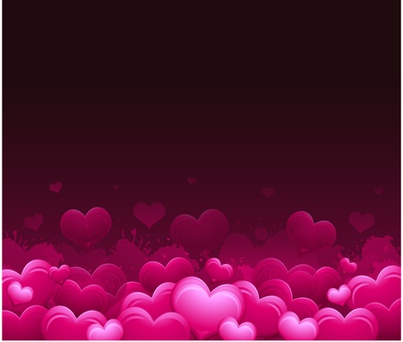 발렌타인 데이 인사말 카드 스톡 콘텐츠 - 8683378