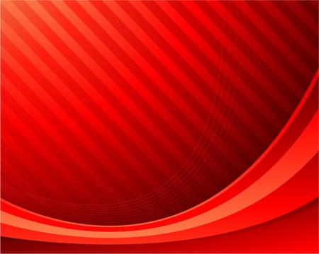 red waving composition internet background Illustration