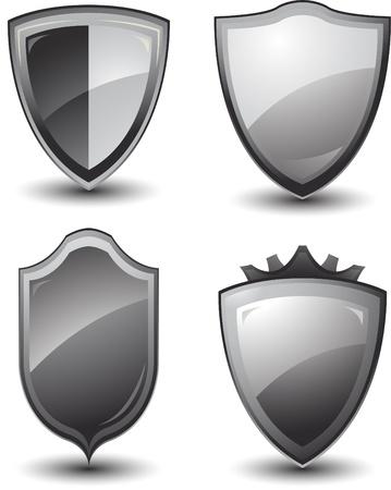 vector shield design Stock Vector - 8683383