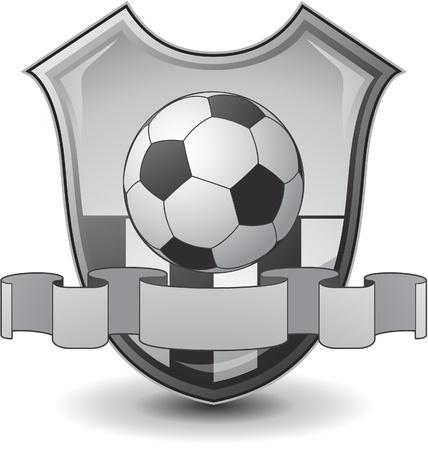 soccer emblem Stock Vector - 8683379