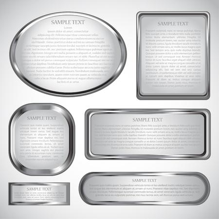 silver   label Reklamní fotografie - 8683401