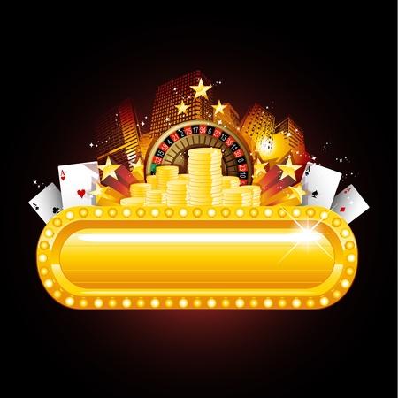 casino: Casino sign