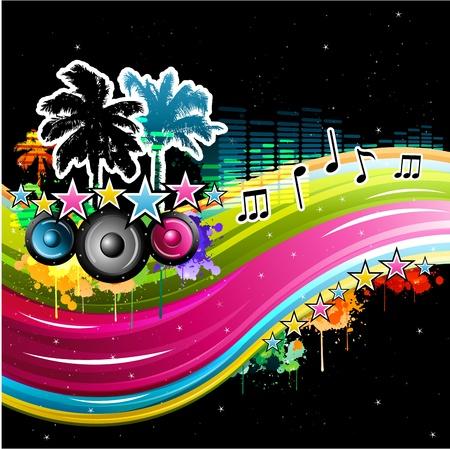 music background: music background