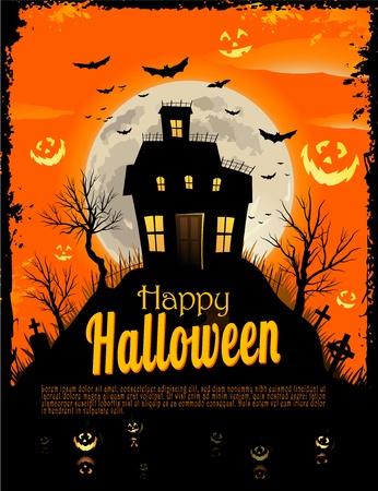 Halloween fond Vecteurs