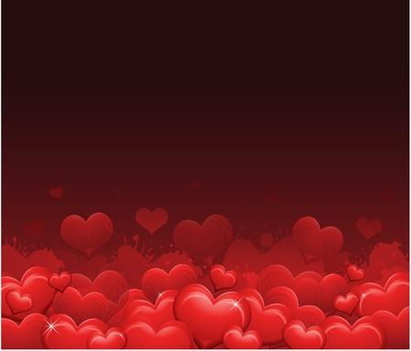 grunge: Ngày nền Red Valentine
