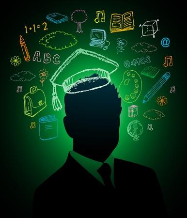 psicologia infantil: Educaci�n concepto de dise�o