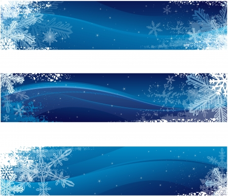 Winter banners Stock Vector - 16193548