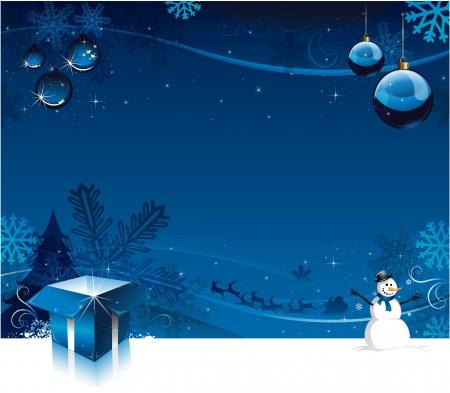 Christmas card background Stock Vector - 16304734