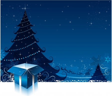 Christmas card background Stock Vector - 16304733