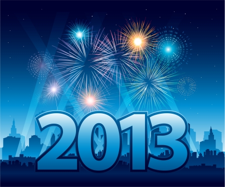New Year Eve background