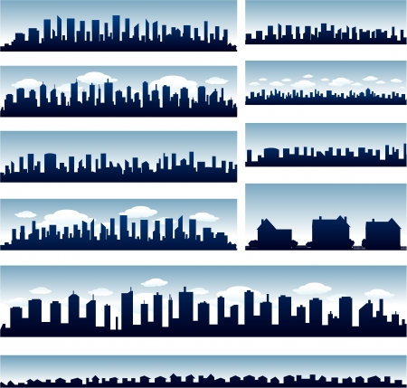 montreal: city skylines Illustration