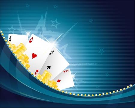 online game: Casino background
