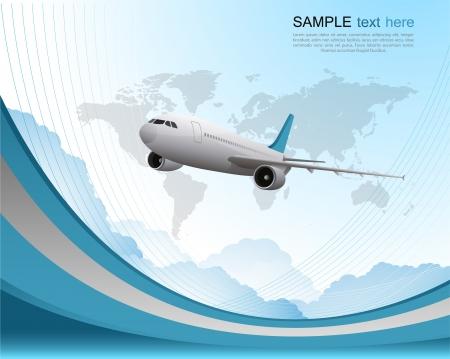 agencia de viajes: Viaje de fondo
