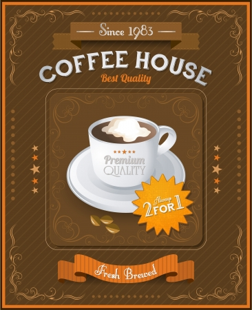 Vintage Coffee House card photo