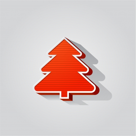 Modern abstract christmas tree background eps 10 Stock Photo - 24060801