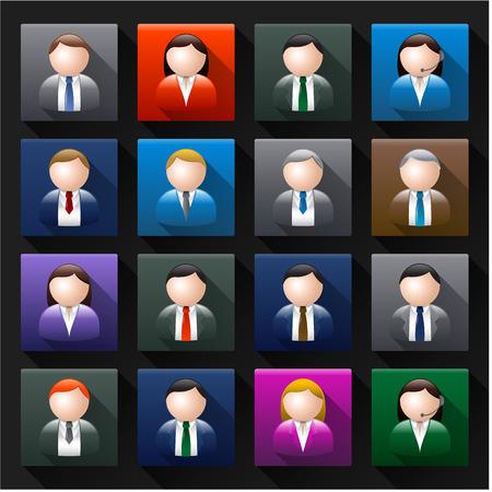 manager: Business avatar Illustration