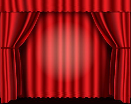 velvet: Red velvet theater curtains