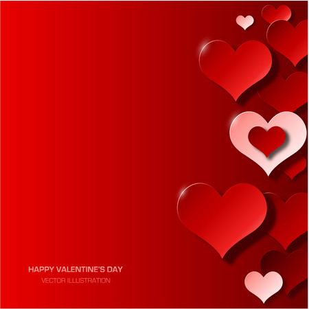Modern valentine's day background Stok Fotoğraf - 34084721