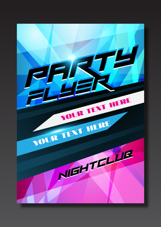 live band: Live music event, party design with place for text on black background