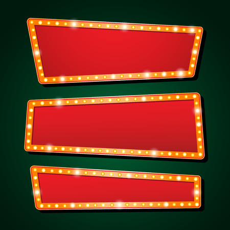 orange neon lamp letters font show cinema and theater