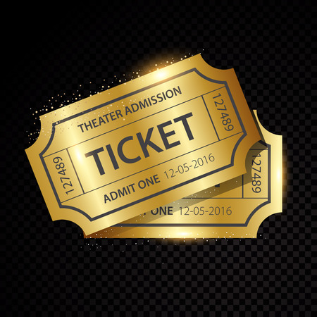 admit: Set of eleven vector tickets and coupons templates