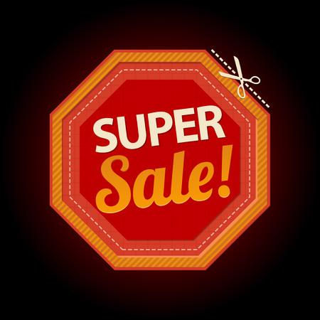 Stop vector symbool super verkoop sticker