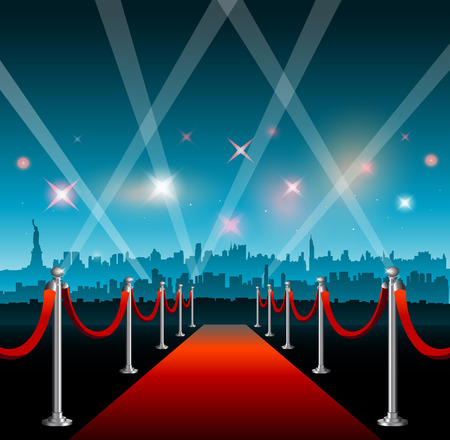 New York city movie red carpet movie theater