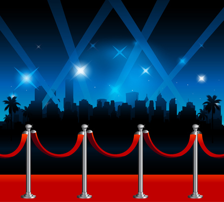 red carpet background