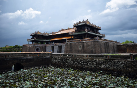 ngo: Ngo Mon Gate, the entrance to the Imperial complex in Hue
