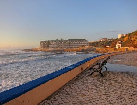 portugal surfer Stock Photo