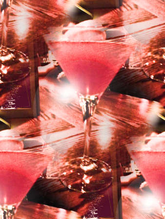 abstract food: cocktail