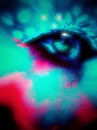artwork: fantasy eye artwork