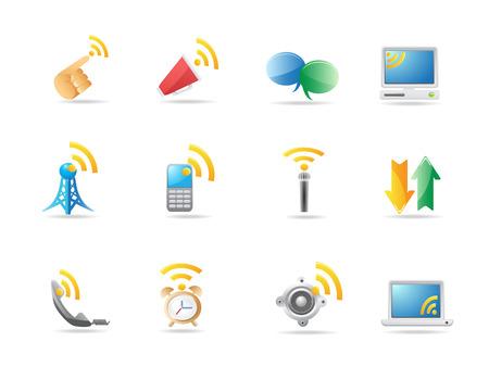 Communication icon Stock Vector - 6824131