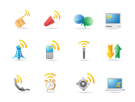 Communication icon Stock Vector - 6824131