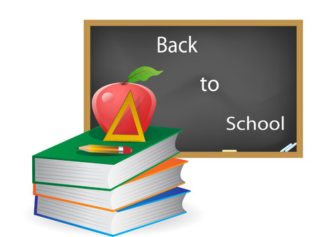 the concept of back to school Vector