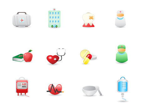 medical icons set for design Stock Vector - 7080614