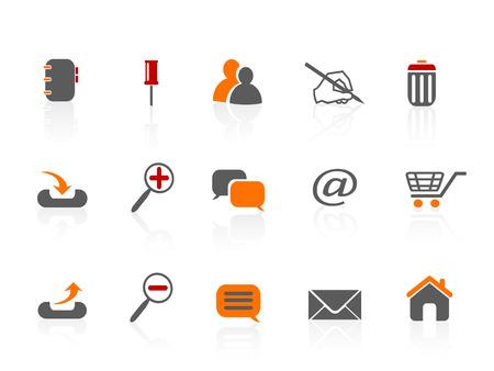 web & Internet icons  Stock Vector - 7180258