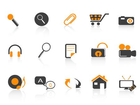 icon set for design Stock Vector - 7180255
