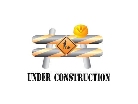 the sign of under construction Vector