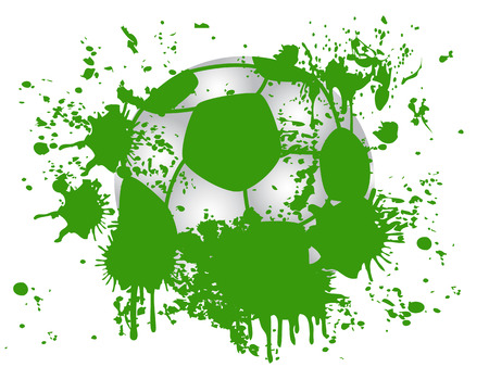 soccer background: grunge soccer background for design