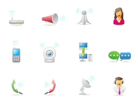 Internet & Communications icon for design Stock Vector - 7754446