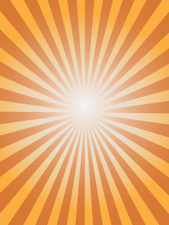 sunburst: simple sunray background for design Illustration