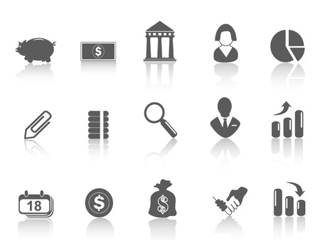 some simple bank icon for web design Vector