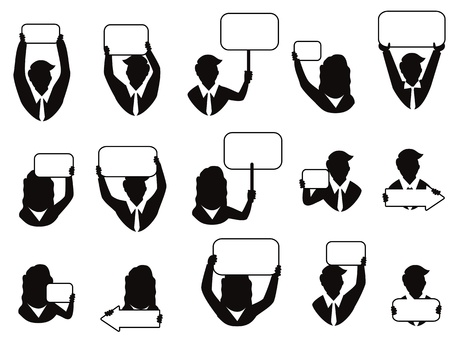 personas con diferente tipo de señal